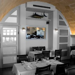 ristorante a base di pesce